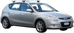 Багажник в штатные места для Hyundai i30 FD '07-12 хэтчбек, сквозной (Whispbar-Prorack)