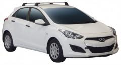 Багажник в штатные места для Hyundai i30 GD '13-16 хэтчбек, до края опоры (Whispbar-Prorack)