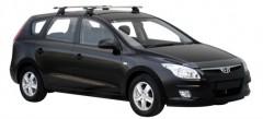 Багажник на крышу для Hyundai i30 FD '07-12 универсал, сквозной (Whispbar-Prorack)