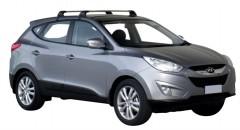 Багажник на крышу для Hyundai ix-35 '10-15, до края опоры (Whispbar-Prorack)