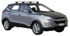 Багажник на крышу для Hyundai ix-35 '10-15, сквозной (Whispbar-Prorack)
