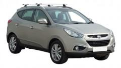 Багажник на низкие рейлинги для Hyundai ix-35 '10-15, сквозной (Whispbar-Prorack)