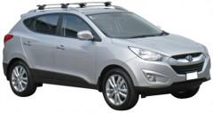 Багажник на рейлинги для Hyundai ix-35 '10-15, сквозной (Whispbar-Prorack)