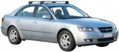 Багажник на крышу для Hyundai Sonata '05-10, сквозной (Whispbar-Prorack)