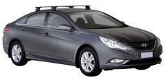 Багажник на крышу для Hyundai Sonata '10-15, сквозной (Whispbar-Prorack)
