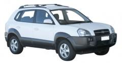 Багажник на рейлинги для Hyundai Tucson '03-09, вровень рейлинга (Whispbar-Prorack)