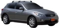 Багажник на крышу для Infiniti EX (QX50) '08-, до края опоры (Whispbar-Prorack)