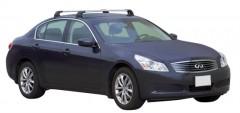 Багажник на крышу для Infiniti G (Q50) Sedan '10-, до края опоры (Whispbar-Prorack)