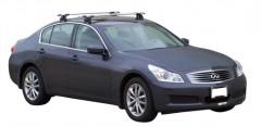 Багажник на крышу для Infiniti G (Q50) Sedan '10-, сквозной (Whispbar-Prorack)