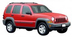 Багажник на рейлинги для Jeep Cherokee KJ '02-07, вровень рейлинга (Whispbar-Prorack)