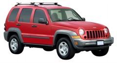 Багажник на рейлинги для Jeep Cherokee KJ '02-07, сквозной (Whispbar-Prorack)