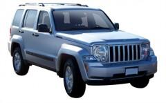Багажник на рейлинги для Jeep Liberty '08-13, вровень рейлинга (Whispbar-Prorack)
