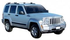 Багажник на рейлинги для Jeep Liberty '08-13, сквозной (Whispbar-Prorack)