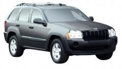 Багажник на рейлинги для Jeep Grand Cherokee WH '04-10, вровень рейлинга (Whispbar-Prorack)