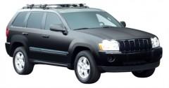 Багажник на рейлинги для Jeep Grand Cherokee WH '04-10, сквозной (Whispbar-Prorack)