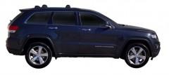 Фото 2 - Багажник на рейлинги для Jeep Grand Cherokee '11-, до края опоры (Whispbar-Prorack)