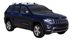 Багажник на рейлинги для Jeep Grand Cherokee '11-, сквозной (Whispbar-Prorack)
