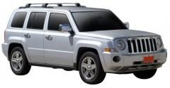 Багажник на рейлинги для Jeep Patriot '07-, до края опоры (Whispbar-Prorack)