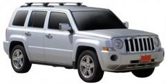 Багажник на рейлинги для Jeep Patriot '07-, сквозной (Whispbar-Prorack)
