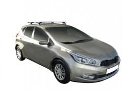 Багажник в штатные места для Kia Ceed '12-, сквозной (Whispbar-Prorack)