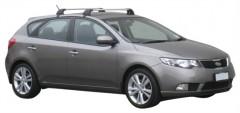 Багажник на крышу для Kia Cerato '09-13, до края опоры (Whispbar-Prorack)