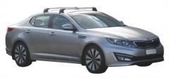 Багажник на крышу для Kia Optima '10-15, до края опоры (Whispbar-Prorack)