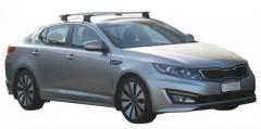 Багажник на крышу для Kia Optima '10-15, сквозной (Whispbar-Prorack)