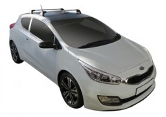 Багажник в штатные места для Kia Pro Ceed '12-, до края опоры (Whispbar-Prorack)
