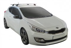 Багажник в штатные места для Kia Pro Ceed '12-, сквозной (Whispbar-Prorack)