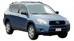 Багажник на рейлинги для Toyota RAV4 '06-12, вровень рейлинга (Whispbar-Prorack)