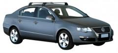 Багажник на крышу для Volkswagen Passat B6 '05-10 седан, до края опоры (Whispbar-Prorack)