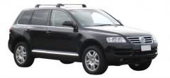 Багажник на штатные направляющие для Volkswagen Touareg '02-09., до края опоры (Whispbar-Prorack)