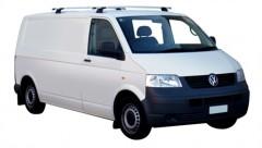 Багажник в штатные места для Volkswagen Transporter T5 '03-15, сквозной (Whispbar-Prorack)