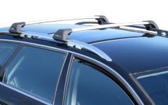 Багажник на рейлинги для Kia Sorento Panoramic '10-13 XM, до края опоры (Whispbar-Prorack)