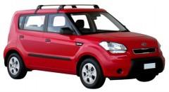 Багажник на крышу для Kia Soul '09-13, до края опоры (Whispbar-Prorack)