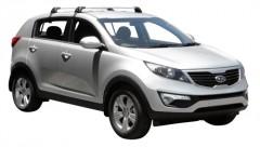 Багажник на крышу для Kia Sportage '10-15, до края опоры (Whispbar-Prorack)