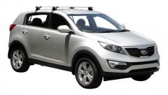 Багажник на крышу для Kia Sportage '10-15, сквозной (Whispbar-Prorack)