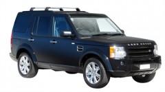 Багажник на штатные направляющие для Land Rover Discovery 3 '04-09, до края опоры (Whispbar-Prorack)