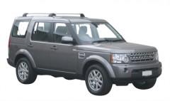 Багажник в штатные места для Land Rover Discovery 4 '09-16, до края опоры (Whispbar-Prorack)