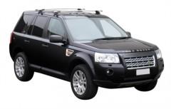 Багажник на крышу для Land Rover Freelander 2 '06-14, сквозной (Whispbar-Prorack)