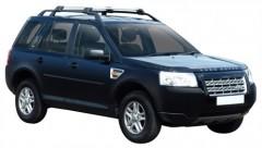 Багажник на рейлинги для Land Rover Freelander 2 '06-14, до края опоры (Whispbar-Prorack)