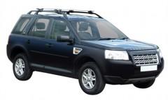 Багажник на рейлинги для Land Rover Freelander 2 '06-14, сквозной (Whispbar-Prorack)