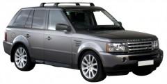 Багажник в штатные места для Land Rover Range Rover Sport '05-12, до края опоры (Whispbar-Prorack)