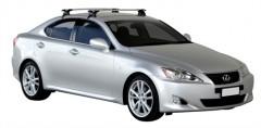 Багажник на крышу для Lexus IS '05-13, сквозной (Whispbar-Prorack)