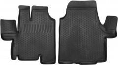 Коврики в салон для Fiat Ducato '06- полиуретановые, черные (L.Locker)