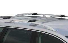 Багажник на рейлинги для Renault Laguna II '01-06 универсал, вровень рейлинга (Whispbar-Prorack)