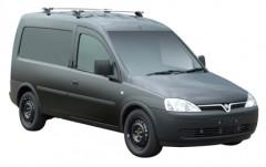 Багажник на крышу для Opel Combo '01-12, сквозной (Whispbar-Prorack)