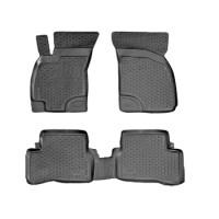 Коврики в салон для Hyundai Accent '01-05 полиуретановые (L.Locker)