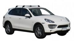 Багажник на крышу для Porsche Cayenne '10-17, до края опоры (Whispbar-Prorack)
