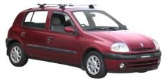 Багажник на крышу для Renault Clio II '01-05, сквозной (Whispbar-Prorack)